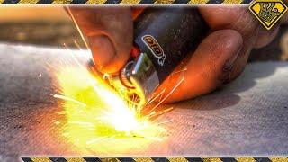 Upaljač vam je slomljen ili prazan? Nema problema! Ovaj tip će vam pokazati kako da zapalite vatru s praznim upaljačem!