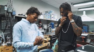 Lil Baby & HoodRich Pablo Juan Stop By ICEBOX To Cop New Jewelry!!!