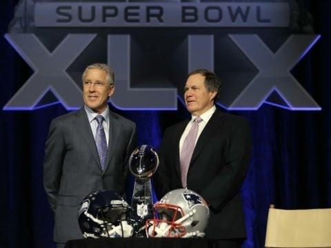 Carroll, Belichick Talk Final Super Bowl Preps
