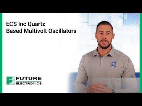 ECS Inc Quartz Based Multivolt Oscillators