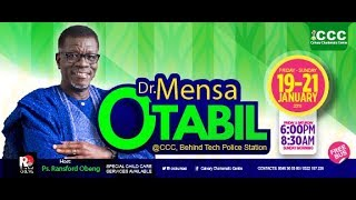 DAY THREE OF OUR WISDOM SERIES 2018 WITH DR. MENSA OTABIL