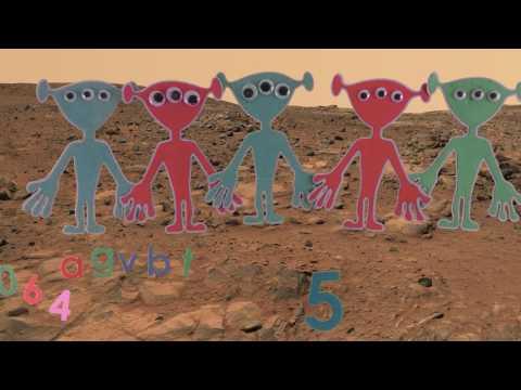 Alphabet Mission to Mars