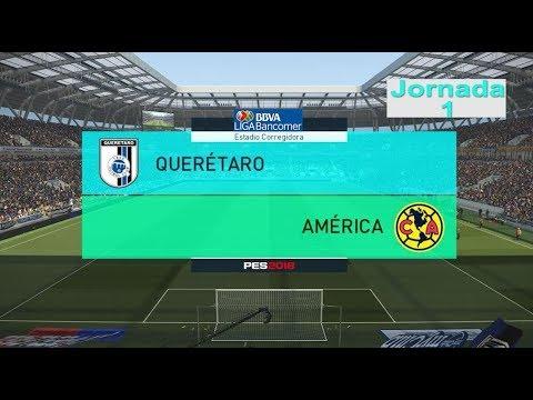 Gallos Blancos Queretaro vs America De Mexico