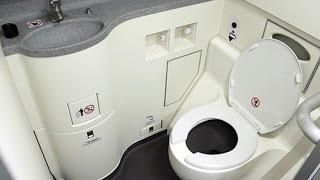Hướng dẫn đi vệ sinh trên máy bay - dancof.info