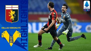 Genoa 2-2 Hellas Verona | Last minute Badelj goal earns Genoa draw at home |Serie A TIM