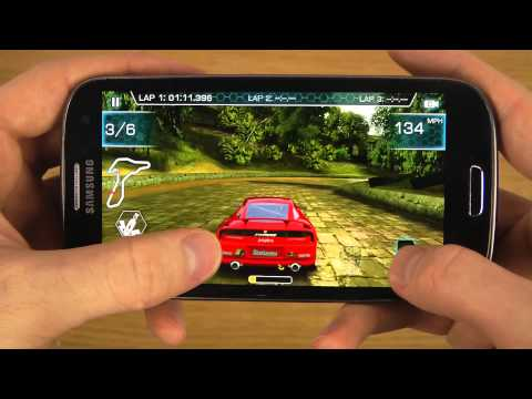 Ridge Racer Slipstream Samsung Galaxy S3 HD Gameplay Trailer - Smashpipe Science