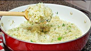 How To Make Cilantro Lime Rice | Easy Cilantro Lime Rice Recipe