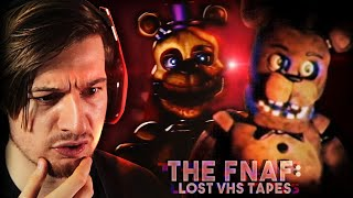 THIS FEELS TOO REAL.. (Reacting to FNAF VHS Tapes)