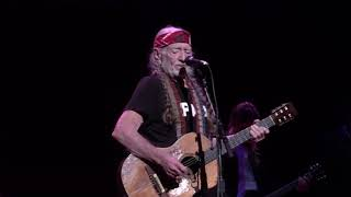 """Willie Nelson with Lukas Nelson """"Always on My Mind"""" Outlaw Music Festival, September 21, 2018"""