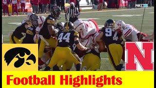 Nebraska vs Iowa Football Game Highlights 11 27 2020