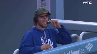 CHC@LAD: Kershaw discusses the Dodgers and Urias