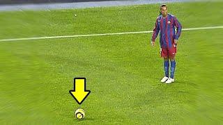 Ronaldinho Assisting Lionel Messi 🔥