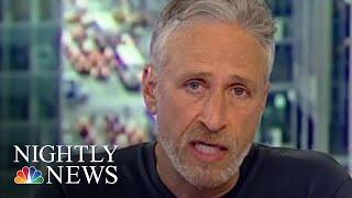 Jon Stewart Blasts Sen. Rand Paul For Blocking 9/11 Victims Bill   NBC Nightly News