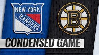 03/27/19 Condensed Game: Rangers @ Bruins