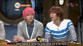 [ENGSUB] Thunder and Mir talk about their noonas on Beatles code-CUT