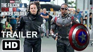 FALCON WINTER SOLDIER DISNEY PLUS OFFICIAL ANNOUNCEMENT Wandavison Teaser Trailer and Release Dates