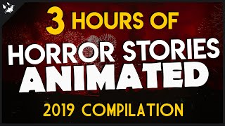 50 Scary Stories Animated - 2019 Compilation