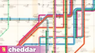 """Why New Yorkers Insisted On a """"Worse"""" Subway Map - Cheddar Explains"""