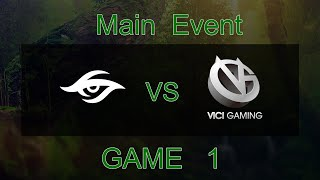 [Kuala Lumpur Major] Team Secret vs Vici Gaming - Game 1