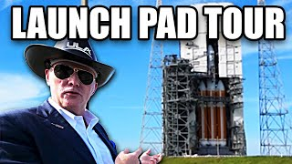 Delta IV Heavy Pad Tour, (with CEO Tory Bruno) - Smarter Every Day 199