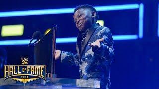 """Warrior Award recipient Jarrius """"J.J."""" Robertson roasts John Cena: WWE Hall of Fame 2018"""