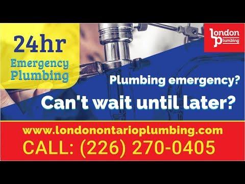 Plumber London Ontario