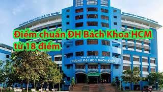Điểm chuẩn trường Đại học Bách khoa Hồ Chí Minh năm 2019