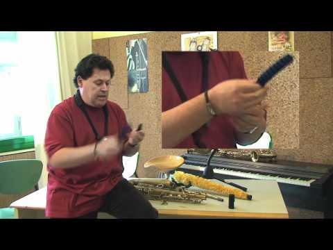 Jordi Paulí / Neteja i manteniment saxòfon