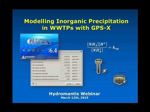 Webinar: Modelling Inorganic Precipitation in WWTPs with GPS-X