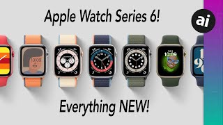 EVERYTHING NEW With Apple Watch Series 6!!