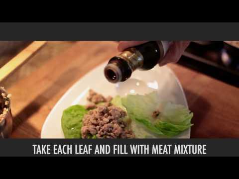 Healthy Recipes: Asian Chicken Lettuce Wraps (Gluten-free)