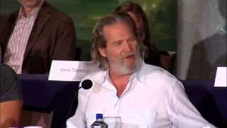 Jeff Bridges shares beautiful Robin Williams memory at The Giver Press Conference