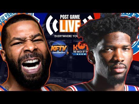 New York Knicks vs. Philadelphia 76ers Post Game Show: Highlights, Analysis, Caller Reactions