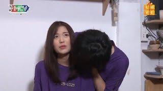 Tùng Maru hôn trộm Han Sara làm Han Sara ngượng đỏ mặt - Han Sara Tùng Maru công khai hẹn hò 💏