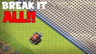 WALL WRECKER VS. ALL WALLS!!