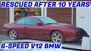 Garden Find 6-Speed V12 BMW E31 850i Revival - Project Marseille: Part 1