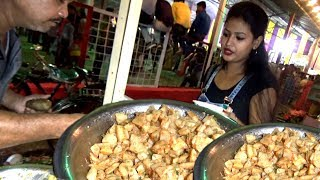 Chatpata Spicy Aloo Kabli @ 10 rs Only | Very Popular Street Food in School Time