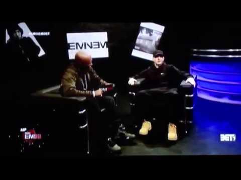 Eminem Interview 2013 - MMLP2 - 106 & Park (Part 1)