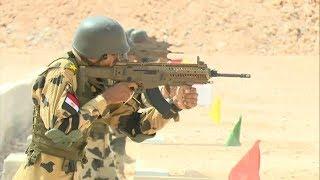 الجيش المصري يبدأ فعاليات التدريب المشترك ( النجم الساطع2018 ) مع ...