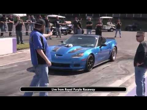 Live Drag Racing (3) - ZR1, CTS-V, Camaro, Corvette
