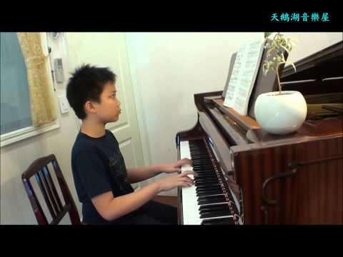 陳昱熙《克萊曼第 G大調小奏鳴曲 Op.36 No.2》101/10/3~鋼琴獨奏  /天鵝湖音樂屋