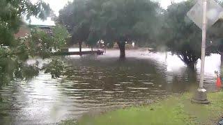 VIDEO: Storm surge in New Bern, NC