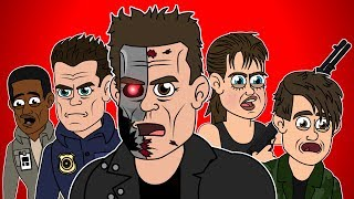 ♪ TERMINATOR 2 JUDGEMENT DAY THE MUSICAL - Animated Parody Song