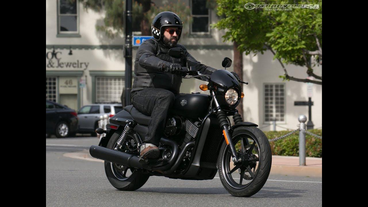 Harley Davidson: 2014 Harley-Davidson Street 750 First Ride