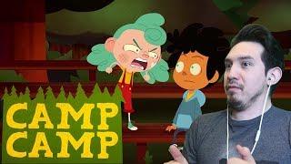 WHOA NIKKI!! | Reaction to.....Camp Camp Season 3, Episode 4 - Nikki's Last Day on Earth