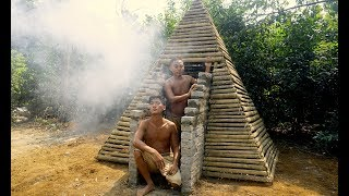 How the Pyramids Were Built (Pyramid Science in the jungle Part 1!)