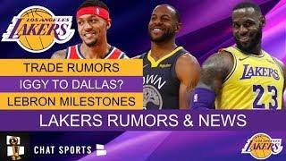 Lakers Trade Rumors On Bradley Beal, Andre Iguodala's Future, LeBron James Surpassing Kobe?