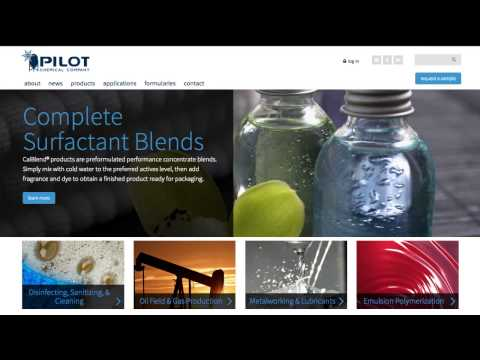 Pilot Chemical Company announced the public launch of its new company website, www.pilotchemical.com. The website serves as the primary hub for information about Pilot Chemical products and proprietary technologies, as well as a resource for industry insights and chemical formularies.