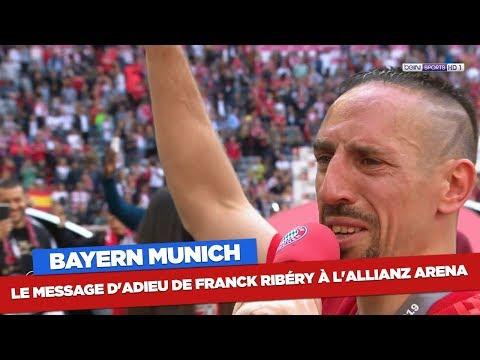 بالدموع..وداعية حزينة للنجم الفرنسي ريبيري
