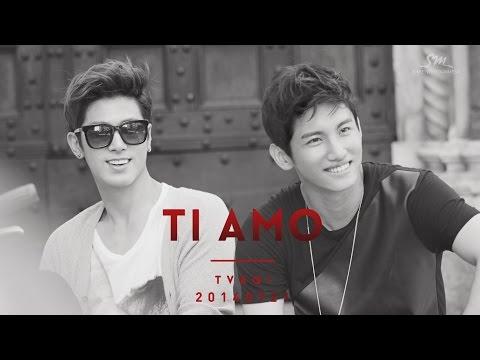 TVXQ! Photo Book 'TI AMO TVXQ!' Preview